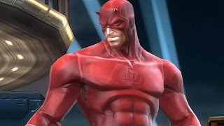 getlinkyoutube.com-Marvel: Contest of Champions - DAREDEVIL Super Attack Moves [iPad/Android]