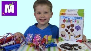 getlinkyoutube.com-Шоколадная фабрика делаем шоколадные конфетки на палочке make hand made chocolate candy