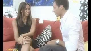 getlinkyoutube.com-Cristina Parodi fetish si fa baciare la scarpa!