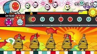 getlinkyoutube.com-【太鼓の達人 WiiU3代目】 ラブリーX《裏譜面》 (オート)