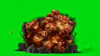 Best Explosion - Green Screen HD 1080p ( Download Link )