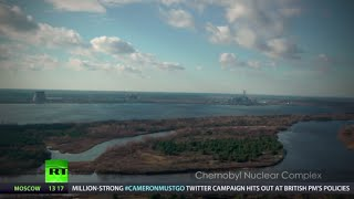 getlinkyoutube.com-Chernobyl drone video: Rare haunting footage of Pripyat exclusion zone