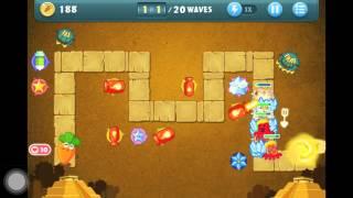 getlinkyoutube.com-Let's Play: Carrot Fantasy Desert Level 6 Walkthrough