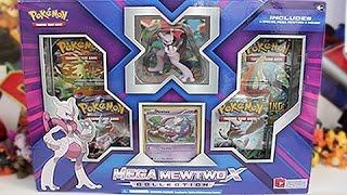 Opening A Mega Mewtwo X Collection Box!!
