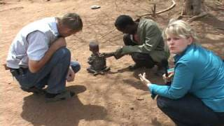 getlinkyoutube.com-Two years old girl dying from starvation in Tanzania, Africa.
