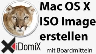 ISO Image mit Mac OS X erstellen