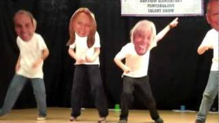 getlinkyoutube.com-Bayview Elementary School Talent Show - Dancing Bobble Heads