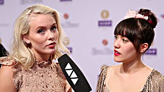 getlinkyoutube.com-Zara Larsson im Interview mit VIVA Moderatoren Melissa Lee und Sami Slimani - Echo 2016