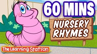 getlinkyoutube.com-Herman the Worm - Popular Nursery Rhymes Playlist for Children - by The Learning Station
