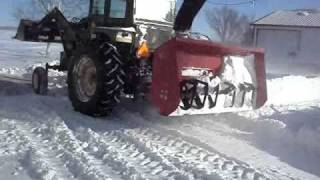 getlinkyoutube.com-Snow Removal After the biggest snow storm in Wisconsin