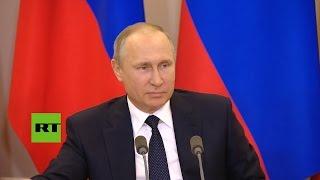 Putin insiste en que Trump no compartió