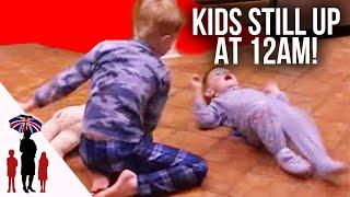 getlinkyoutube.com-Mother Gets Emotional Over Kids Behaviour At Bedtime - Supernanny US