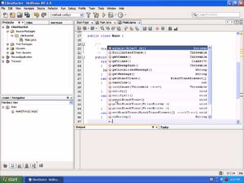 Java Network Programming|Client Server programming in java |Java Video Tutorials|Part 1