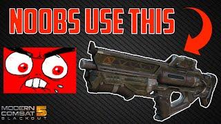 getlinkyoutube.com-Modern Combat 5 - NOOBS USE THIS GUN! - SLS Rant