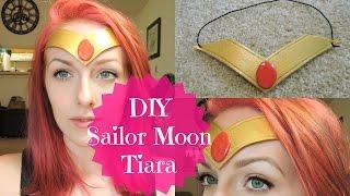 getlinkyoutube.com-DIY Sailor Moon Tiara / Headband | Super Cheap & Easy
