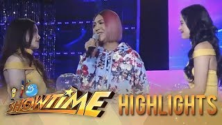 It's Showtime Miss Q & A: Heartrending lines with Vice, Bela and