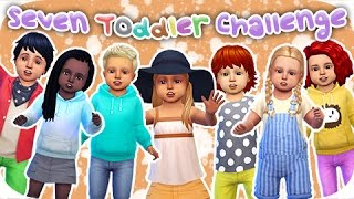 getlinkyoutube.com-The Sims 4 Seven Toddler Challenge | Part 1 - What am I getting myself into!