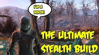 getlinkyoutube.com-Fallout 4: The Ultimate Sneak Build! Chameleon Stealth Suit Character Breakdown