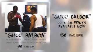 Gucci Mane dévoile ses talents de boxeur