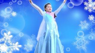 getlinkyoutube.com-エルサ ♡ ビビディ・バビディ・ブティック Bibbidi Bobbidi Boutique Disney's Frozen Elsa アナと雪の女王 ディズニープリンセス