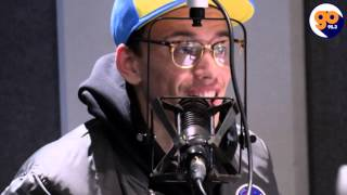 getlinkyoutube.com-Logic talks Tree of Life, Donald Trump, Voting and more with Mr. Peter Parker on Go 95.3