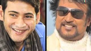 Rajinikanth and Mahesh Babu Says No To Smoking