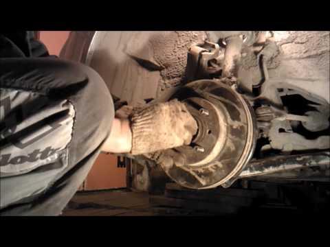 Замена подшипника передней ступицы