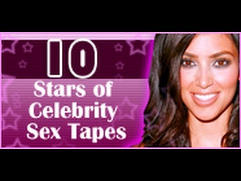 10 Stars of Celebrity Sex Tapes