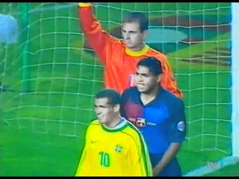 FC Barcelona Vs Brazil 2-2 Camp Nou 1999 FULL GAME - PARTIDO COMPLETO