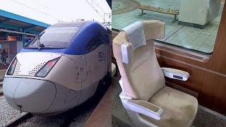 getlinkyoutube.com-Korea High Speed Rail in First Class - KTX Sancheon Iksan - Seoul Yongsan