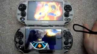 getlinkyoutube.com-Review Comparison Playstation PS Vita 2000 Slim Vs Versus PS Vita 1000 Phat Fat Part 2