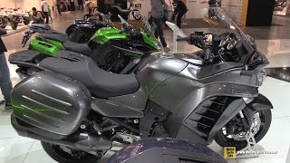 getlinkyoutube.com-2016 Kawasaki 1400 GTR - Walkaround - 2015 EICMA Milan