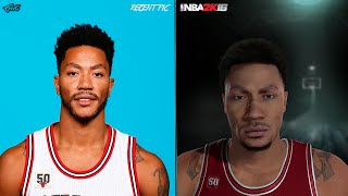 getlinkyoutube.com-NBA 2K16 vs Real Life Face Comparisons