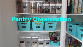 getlinkyoutube.com-Pantry Organization | Dollar Tree Organization