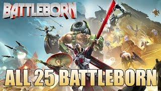 getlinkyoutube.com-All 25 Battleborn (Character Rundown)