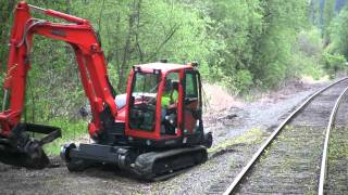 getlinkyoutube.com-ARC - Rail X - Kubota KX080
