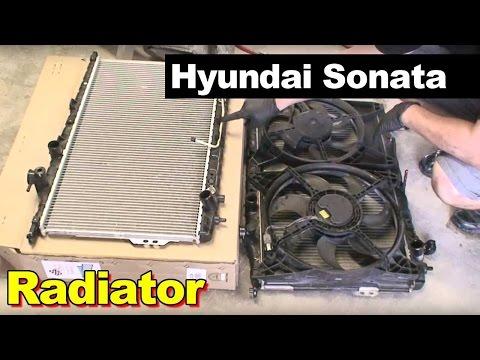 2002 Hyundai Sonata Radiator