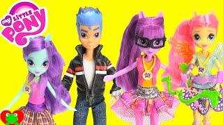 getlinkyoutube.com-My Little Pony Friendship Games Equestria Girls Dolls Flash Sentry and Twilight