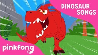 Tyrannosaurus-Rex | DInosaur Song | Pinkfong Songs for Children width=
