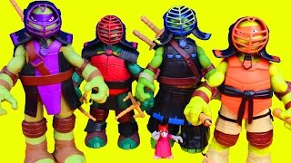 getlinkyoutube.com-Teenage Mutant Ninja Turtles Dojo TMNT with Training Gear Nickelodeon Master Splinter