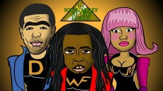 getlinkyoutube.com-Lil Wayne SuperHero (Cartoon Spoof) Young Money Justice League feat. Drake, Nicki Minaj, Tyga