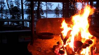 getlinkyoutube.com-Campfire video Full HD 1080p with amazing natural sound