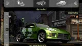 getlinkyoutube.com-Need For Speed Underground 2 Customization-Nissan 350z
