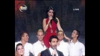 getlinkyoutube.com-Haifa Wehbe Salma Ya Salama Celebrity Duets هيفاء وهبي سالمة يا سالامة