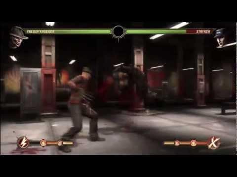 MK9 - Freddy Combo Compilation - Mortal Kombat 9