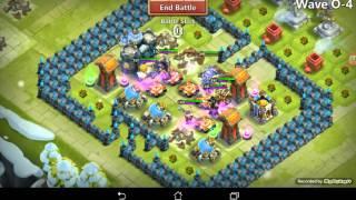 getlinkyoutube.com-Castle clash HBM O with no PD, Vlad or Santa