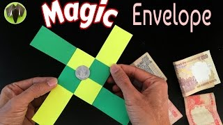 "getlinkyoutube.com-Origami Tutorial to make ""Magic Envelope"" - Trick 