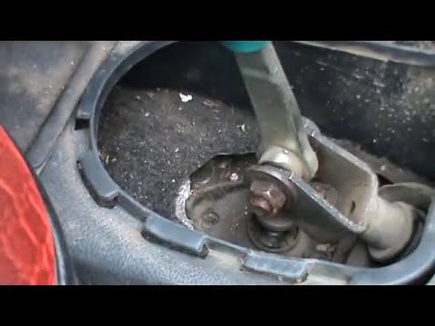 Простой способ устранения болтанки рычага скоростей на кулисе ВАЗ
