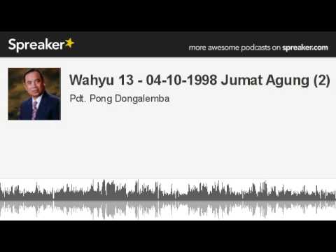 Wahyu 13 - 04-10-1998 Jumat Agung (2) (made with Spreaker)
