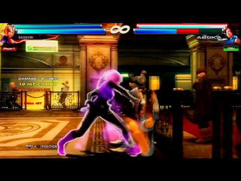 Tekken Tag 2 | Combo Tricks and Traps Anna . Nina | Part 2